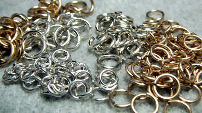 jump ring sizes Chain Maille Jewelry Patterns
